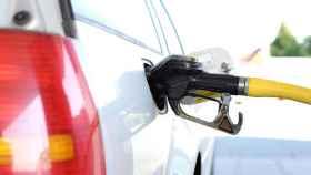 diesel combustible gasolinera coche
