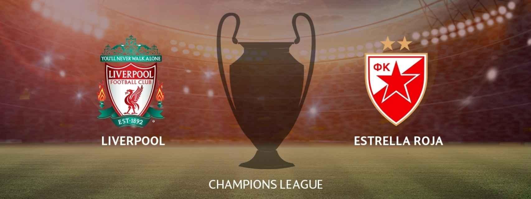 Liverpool - Estrella Roja