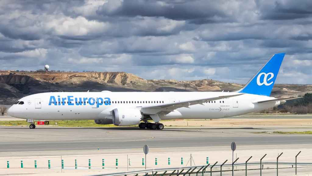 Uno de los aviones Dreamliner de Air Europa