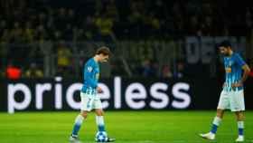 Griezmann y Diego Costa, abatidos en el Borussia Dortmund - Atlético