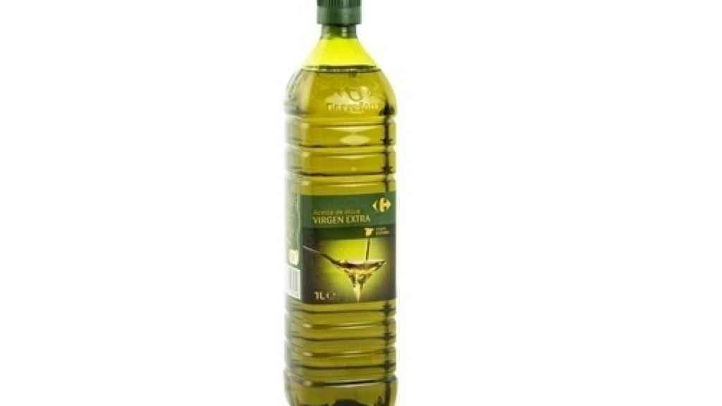 El aceite de oliva virgen extra de Carrefour ocupa la segunda posición.