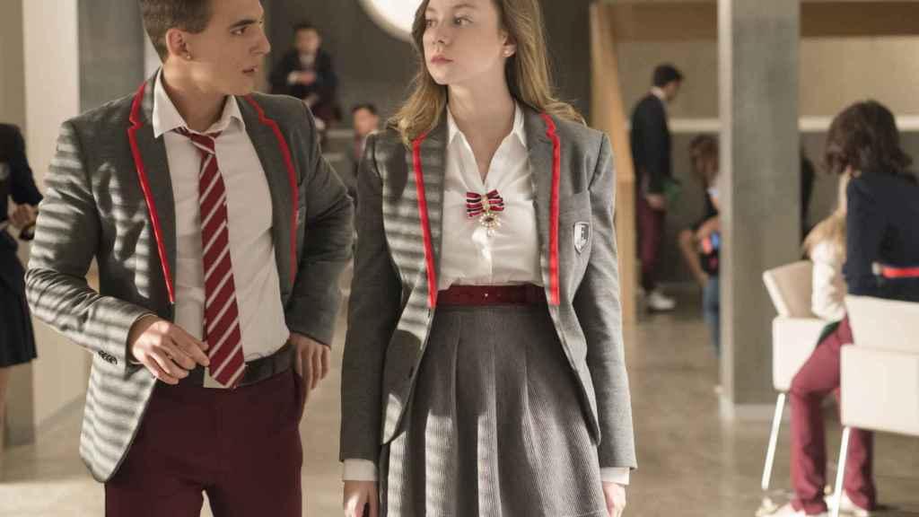 Élite, la serie española del momento, emitida y producida por Netflix.