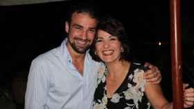 Mario Biondo y Santina en una imagen de archivo.