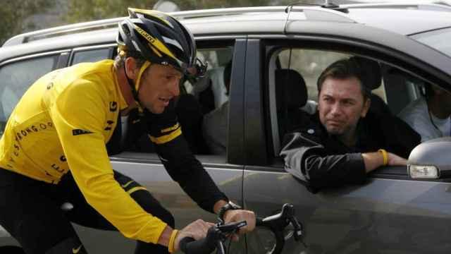 Bruyneel y Lance Armstrong