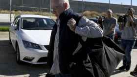 Rodrigo Rato, a su llegada a la cárcel de Soto del Real.