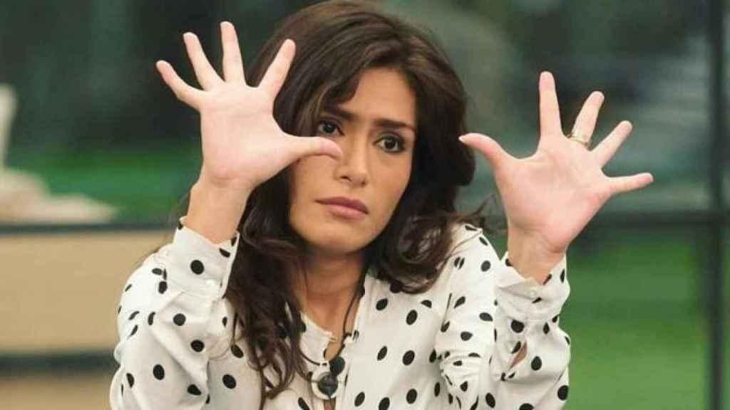 Miriam durante el programa.