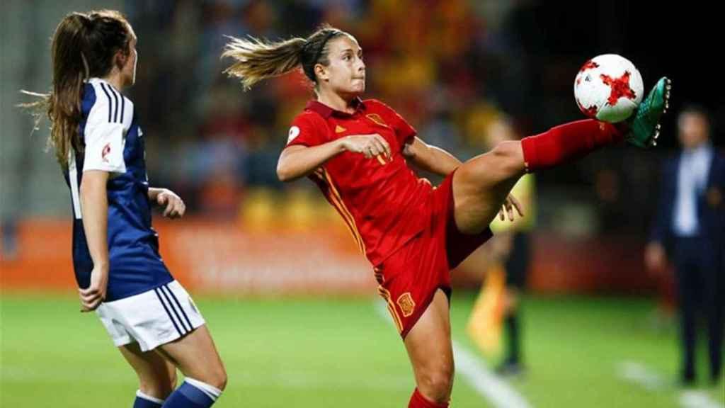 Alexia Putellas, jugadora del Barça y la Selección Española.