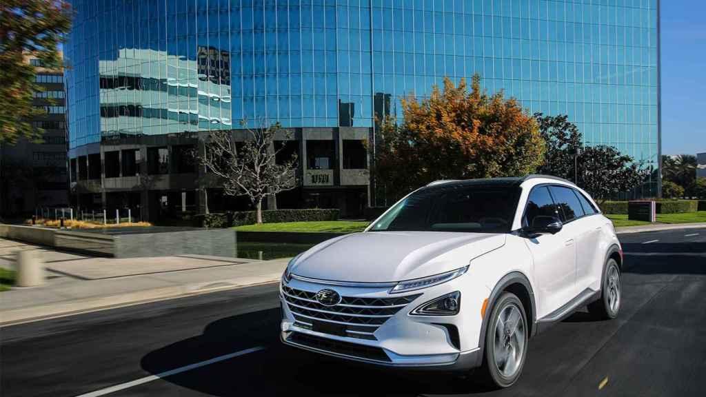 Hyundai Nexo, estrella de la casa surcoreana. Alcanza un precio de 70.000 euros.