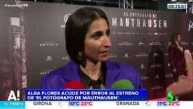 La cómica y viral confusión de premiére de Alba Flores