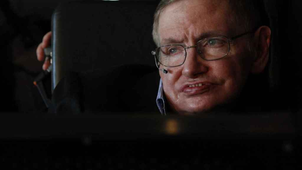 El astrofísico Stephen Hawking en 2010.