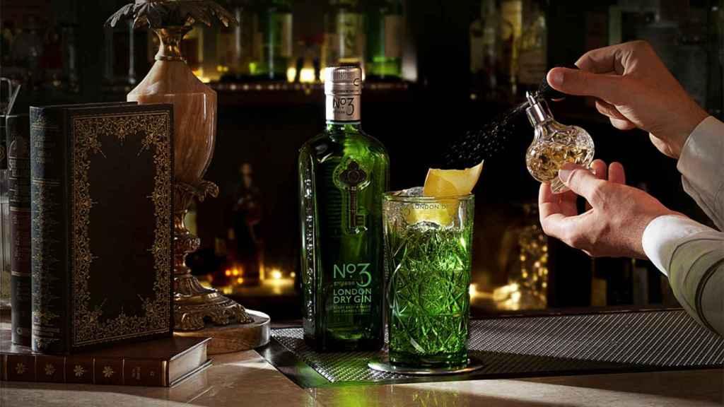 No3 London Dry Gin _baja