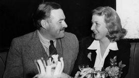 Ernest Hemingway y Martha Gellhorn.