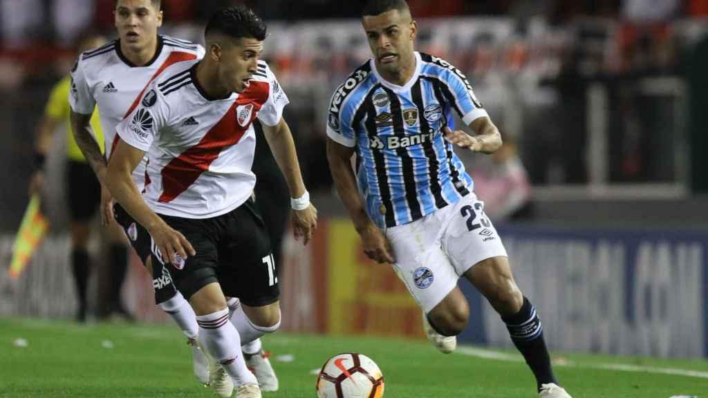 Exequiel Palacios jugador de River Plate