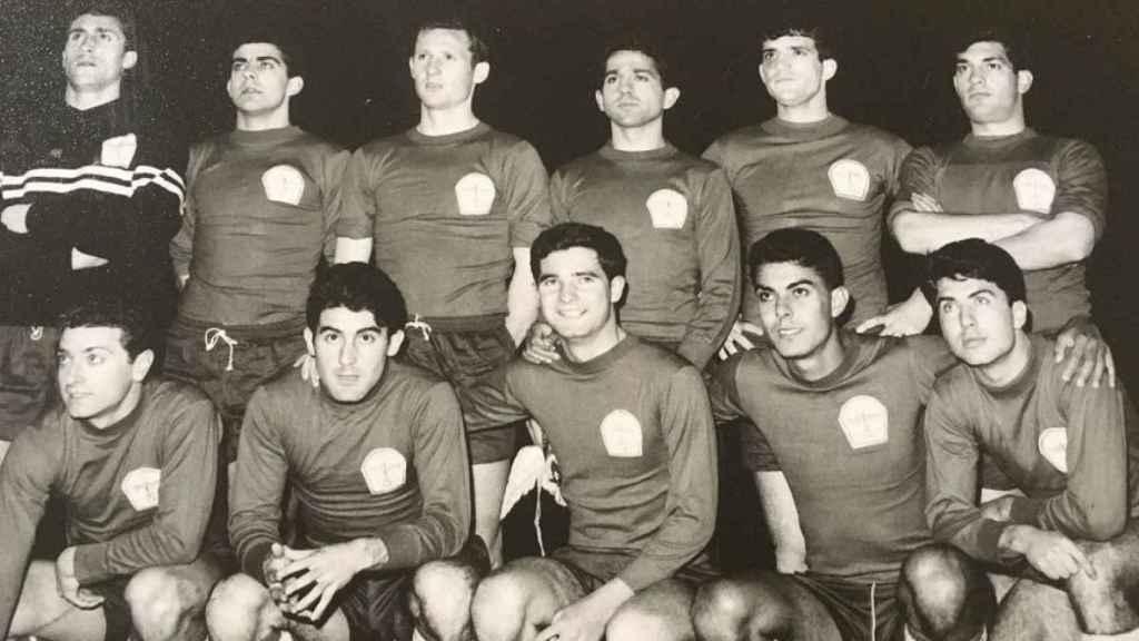 Jugadores de la selección nacional militar de 1965.