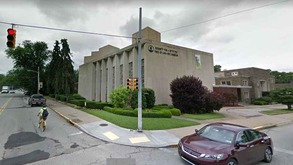Sinagoga Árbol de la Vida, en Pittsburg (Pensilvania, EEUU).
