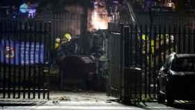 Accidente del helicóptero del dueño del Leicester