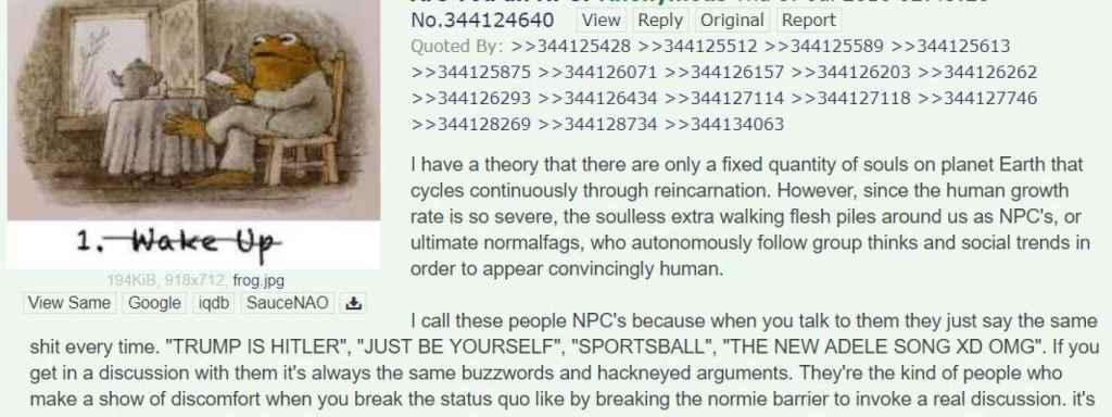 4chan Npc