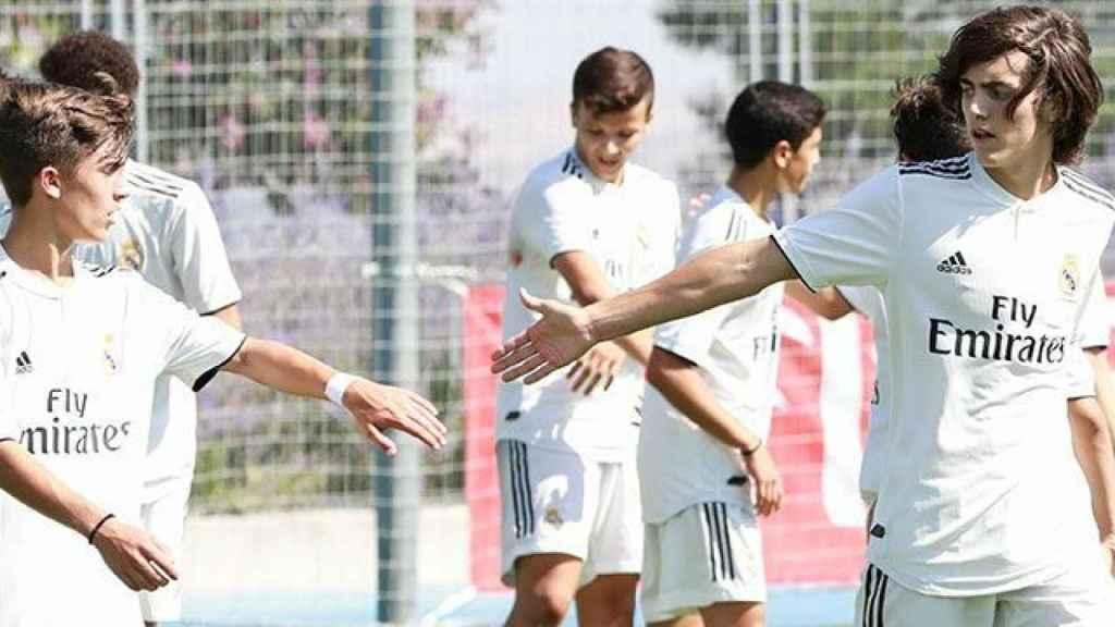 Canteranos del Real Madrid