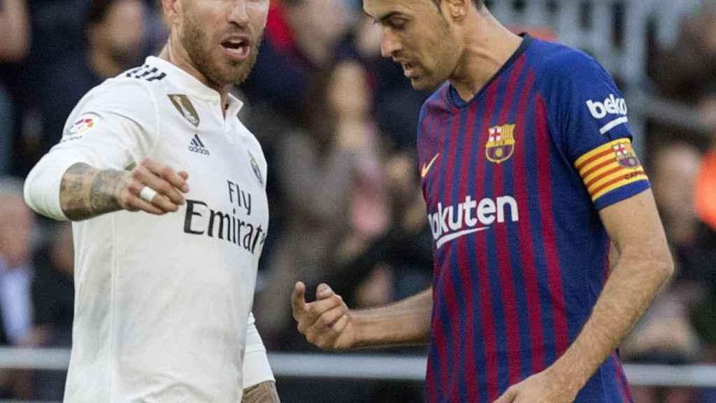 Último partido de Liga entre el FC Barcelona y el Real Madrid.