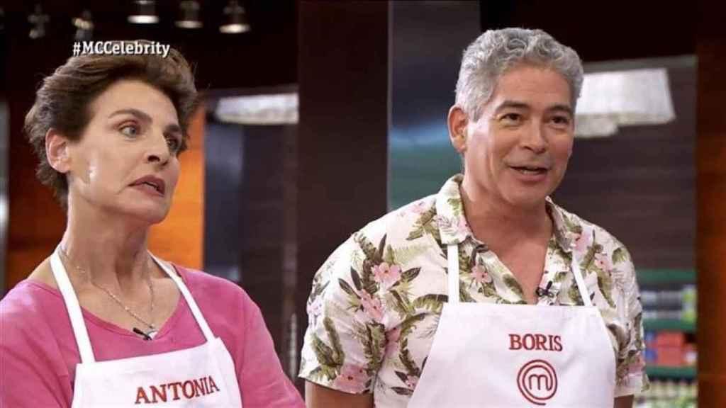 El venezolano junto a Antonia Dell'Atte.