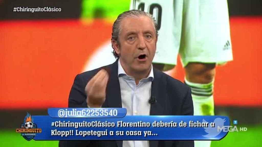 Josep Pedrerol en El Chiringuito (@elchiringuitotv)