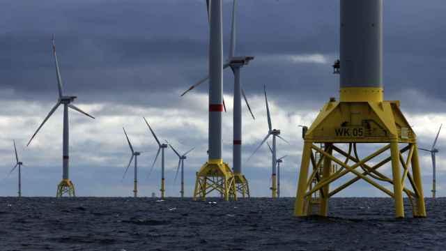 Imagen del parque eólico Wikinger.