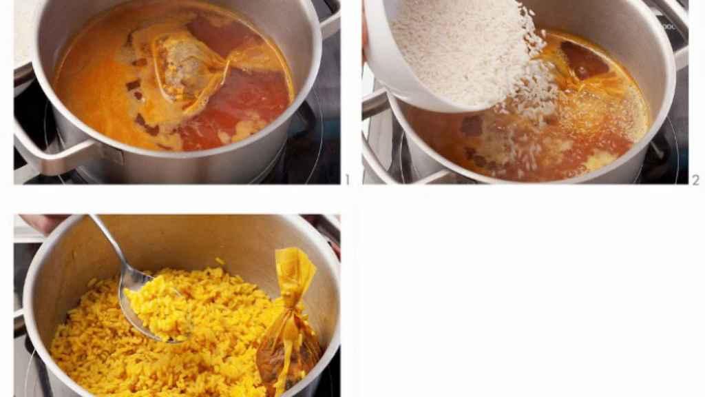 Cómo preparar un arroz con cúrcuma.