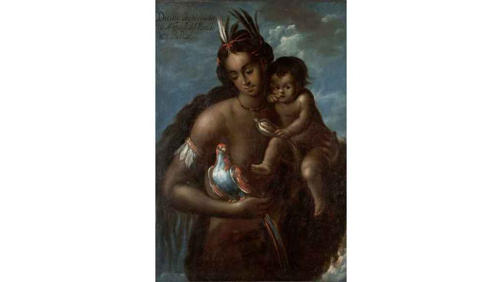India chichimeca. Manuel Arellano, 1711.