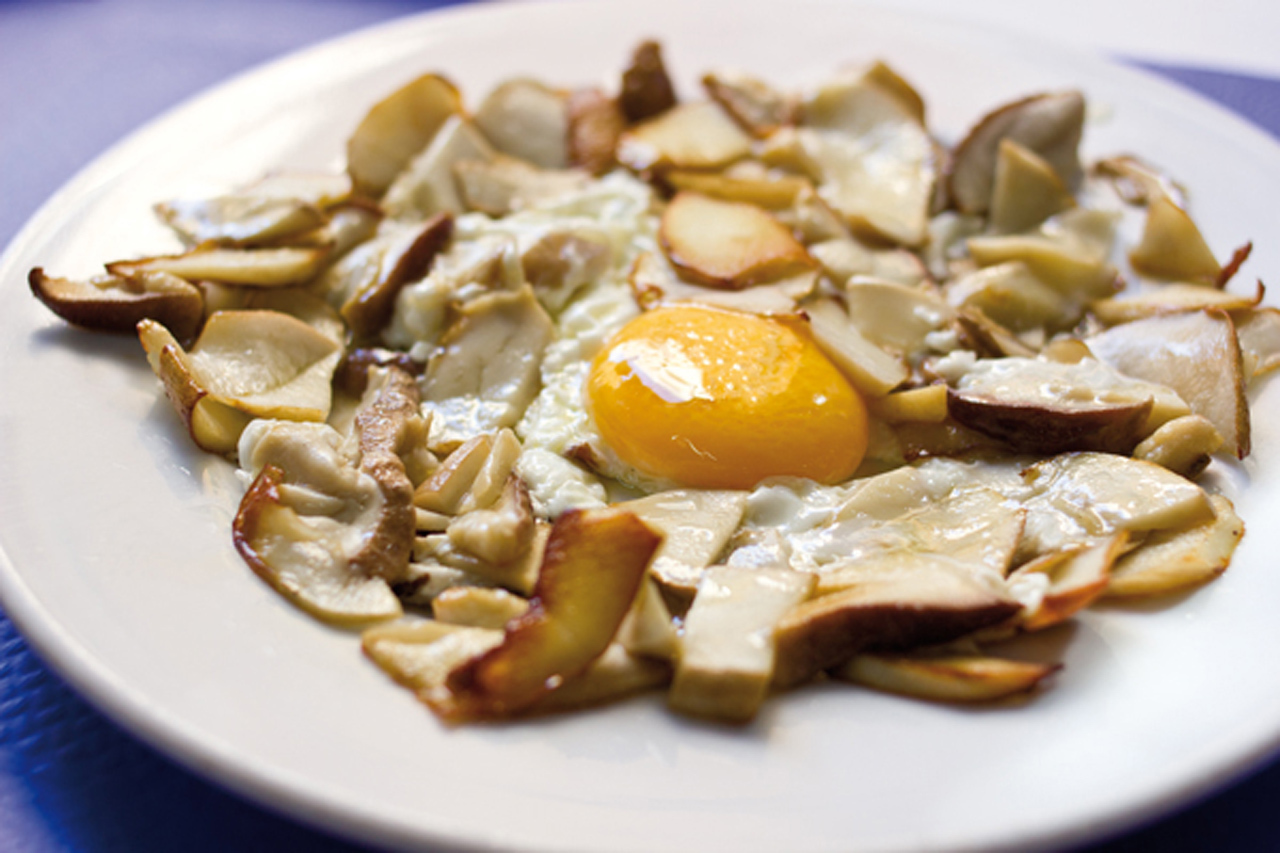 Los mejores restaurantes de setas - CISNE-AZUL