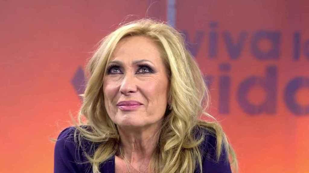 Rosa Benito durante el programa 'Viva la vida'.