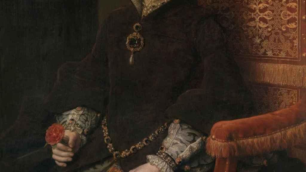 La reina María de Inglaterra, segunda esposa de Felipe II