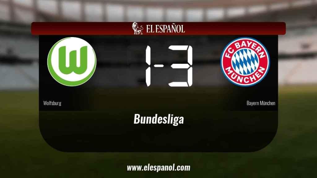 El Wolfsburg cae derrotado frente al Bayern München (1-3)