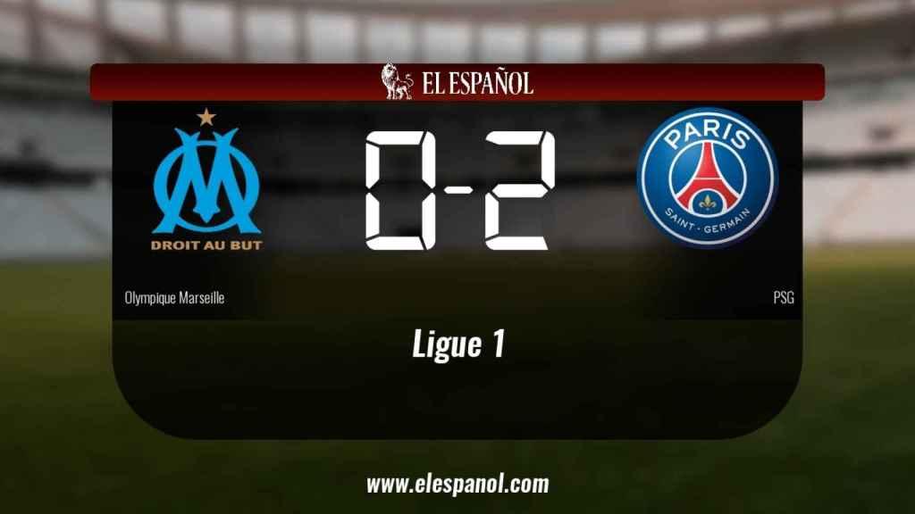 El Olympique Marseille cae ante el PSG (0-2)