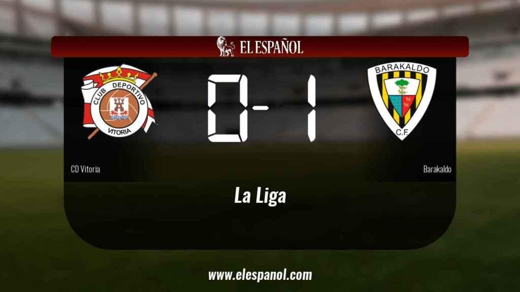El Vitoria cae derrotado frente al Barakaldo (0-1)