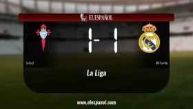 El Celta B y el RM Castilla se repartieron los puntos tras un empate a uno