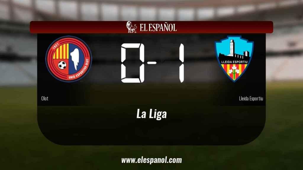 El Lleida Esportiu vence y se lleva los tres puntos