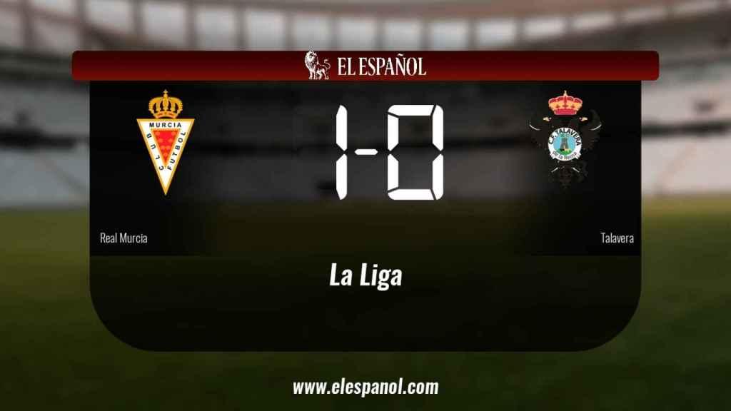 El Real Murcia derrota en casa al Talavera de la Reina por 1-0
