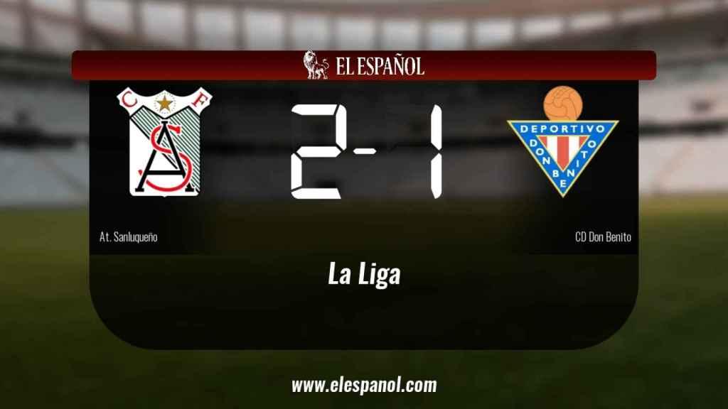 El At. Sanluqueño derrota en casa al Don Benito por 2-1