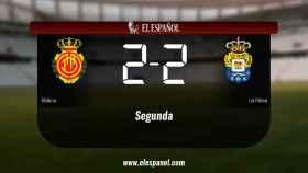 Empate (2-2) entre el Mallorca y Las Palmas