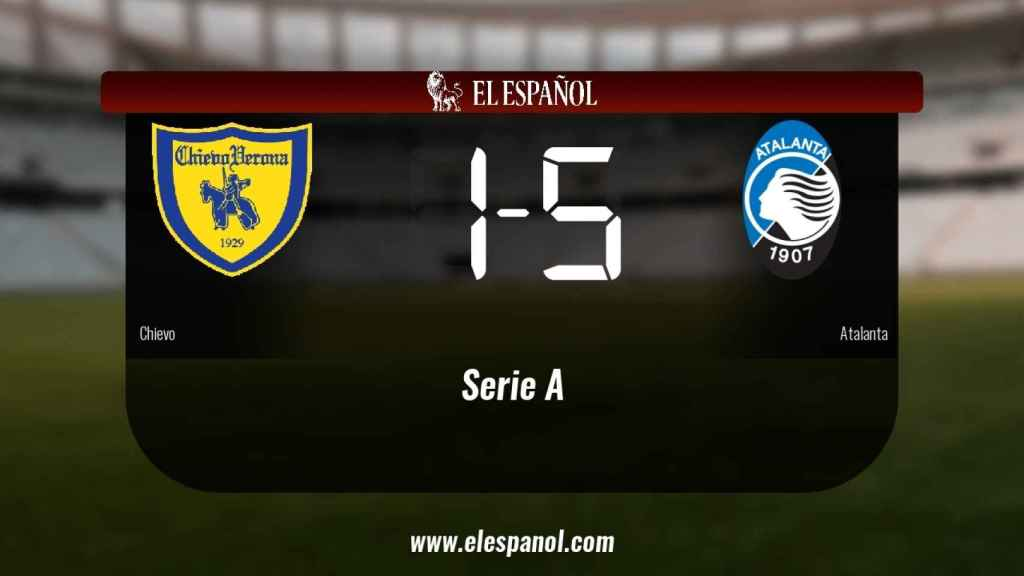 El Atalanta vence en el Stadio Marc'Antonio Bentegodi (1-5)
