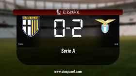 El Lazio vence 0-2 frente al Parma