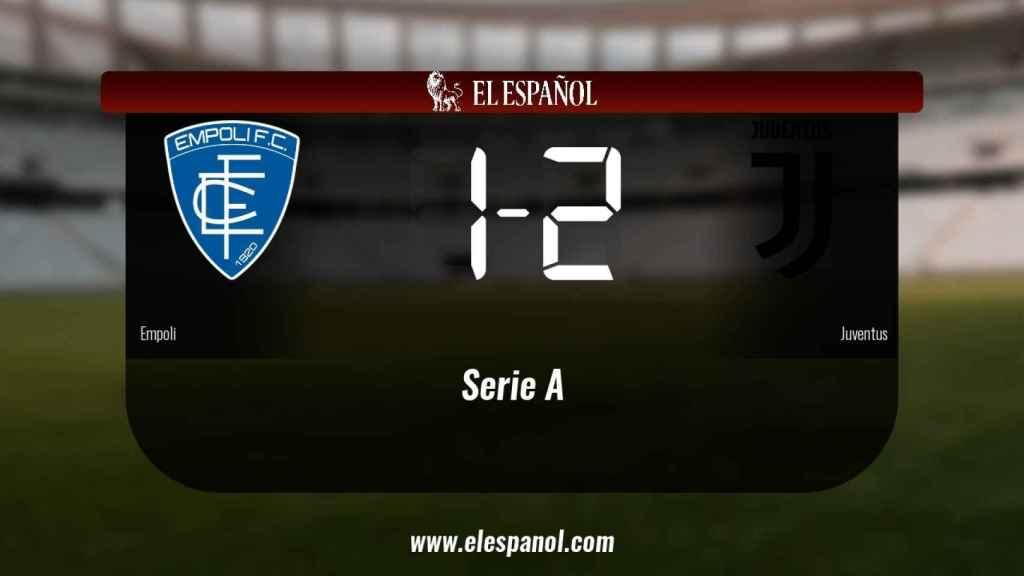 La Juventus ganó en casa del Empoli