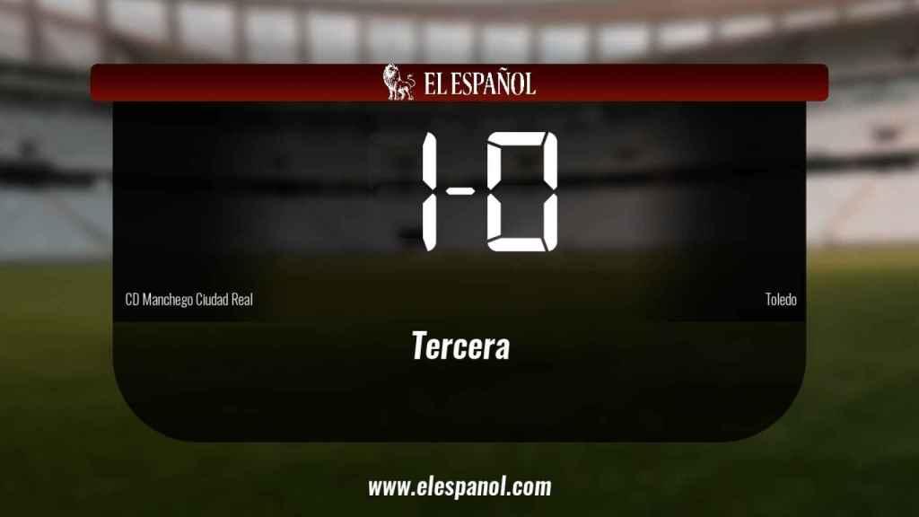 Tres puntos para el equipo local: Manchego Ciudad Real 1-0 Toledo