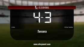 Los tres puntos se quedaron en casa: el Roda 4-3 Atletico Tomelloso