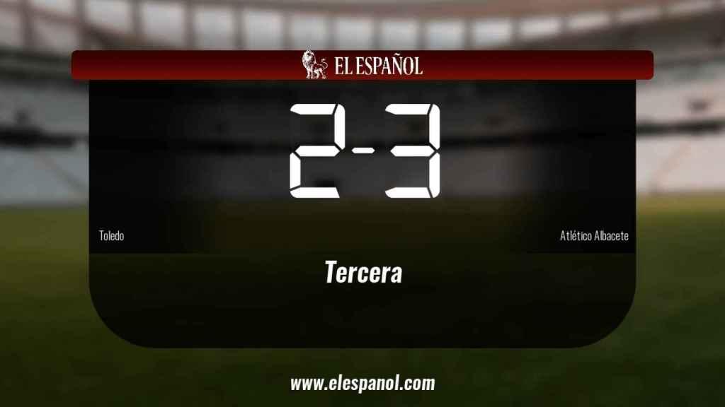 El Atlético Albacete se lleva tres puntos a casa