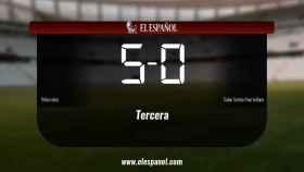 Triunfo del Villarrubia por 5-0 frente al Calvo Sotelo Puertollano
