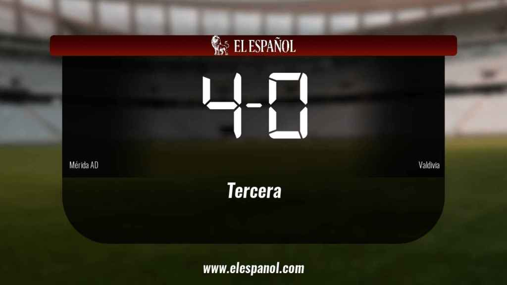 Tres puntos para el equipo local: Mérida AD 4-0 Valdivia