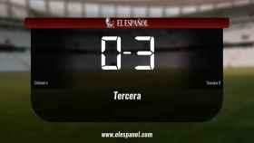 Osasuna Promesas derrotó al Cirbonero por 0-3
