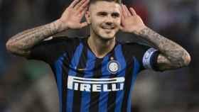 Mauro Icardi, jugador del Inter de Milán