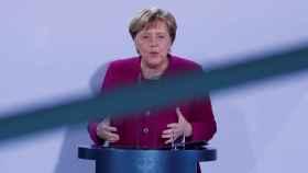 Merkel, anunciando que no optará a la reelección.